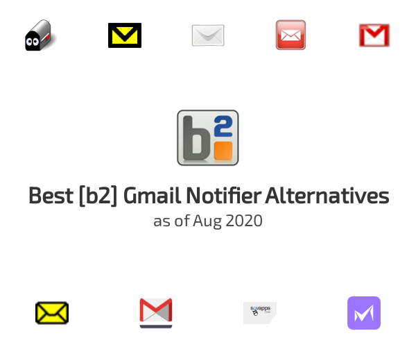Best [b2] Gmail Notifier Alternatives