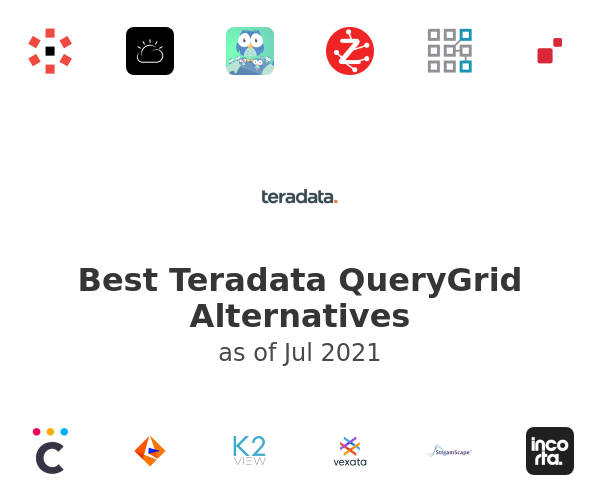 Best Teradata QueryGrid Alternatives