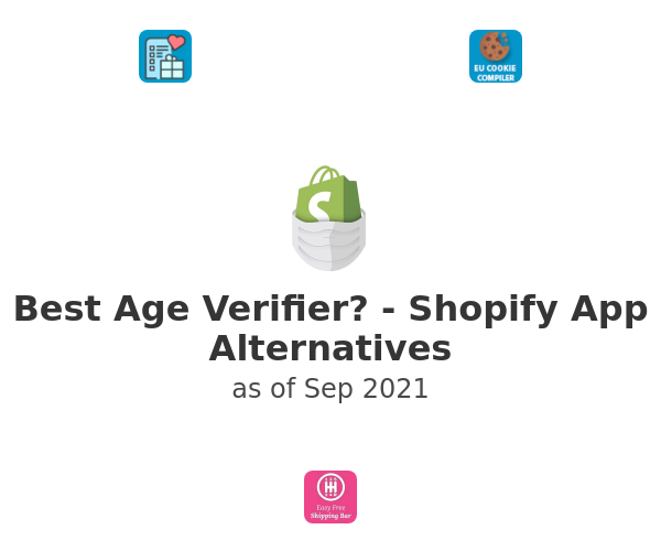 Best Age Verifier? - Shopify App Alternatives