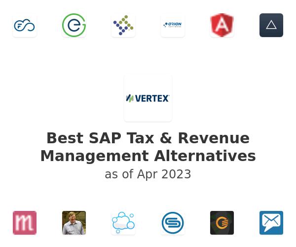 Best SAP Tax & Revenue Management Alternatives