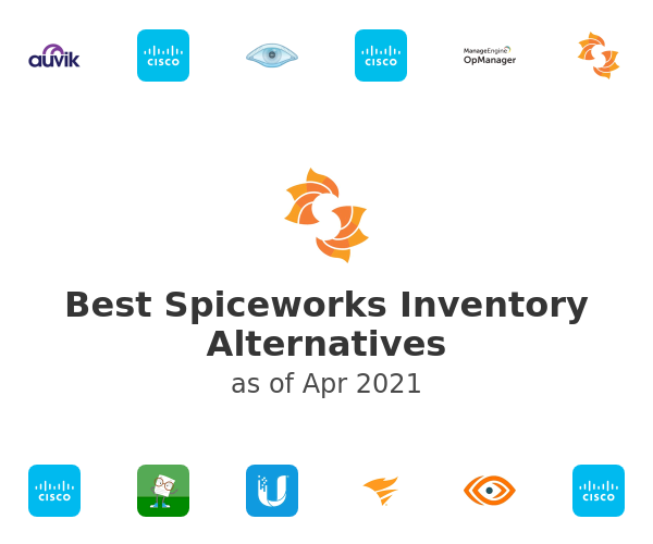 Best Spiceworks Inventory Alternatives