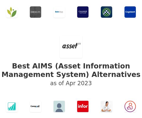 Best AIMS (Asset Information Management System) Alternatives