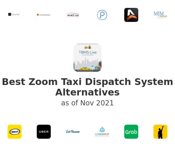 Best Zoom Taxi Dispatch System Alternatives