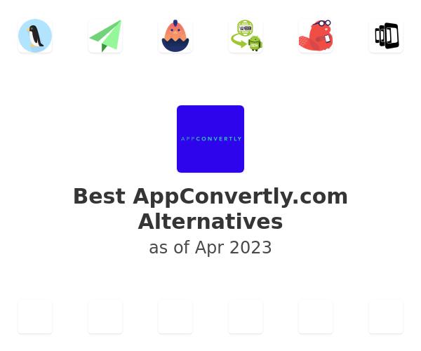 Best AppConvertly.com Alternatives