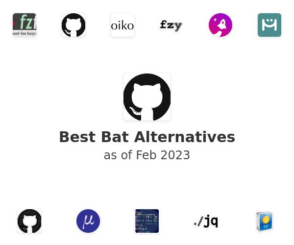 Best Bat Alternatives