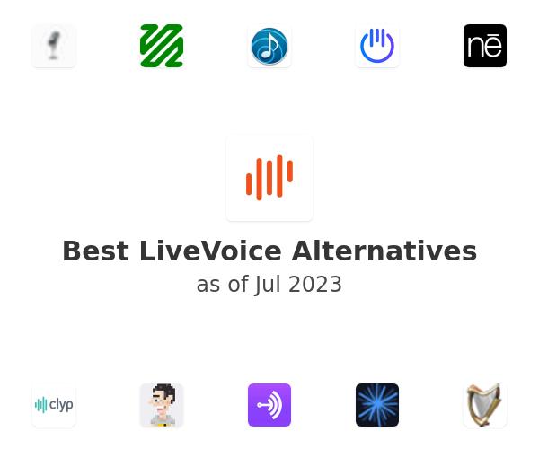 Best LiveVoice Alternatives