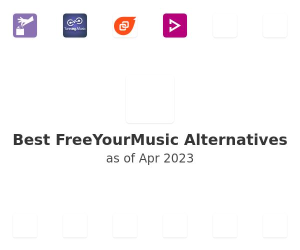 Best FreeYourMusic Alternatives
