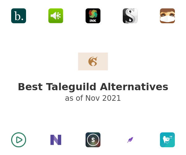 Best Taleguild Alternatives