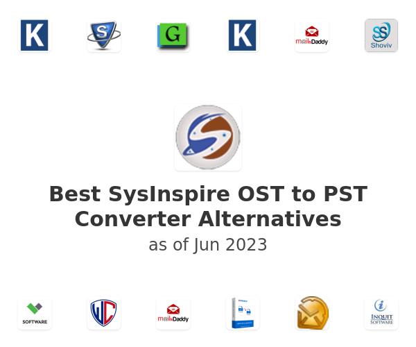 Best SysInspire OST to PST Converter Alternatives