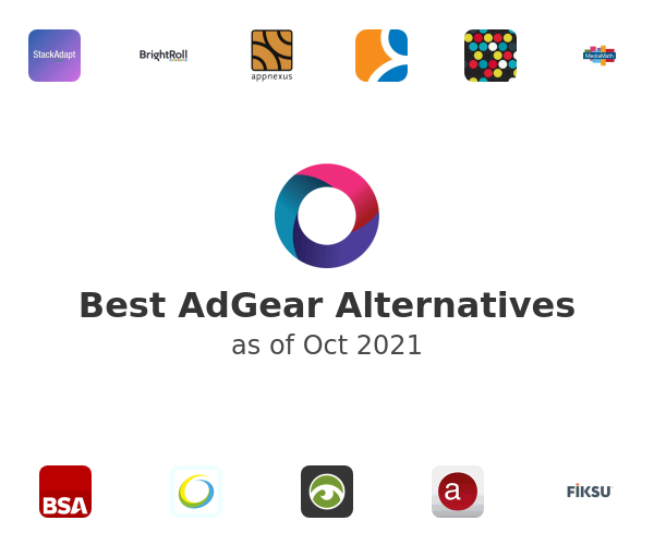 Best AdGear Alternatives