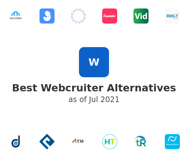 Best Webcruiter Alternatives