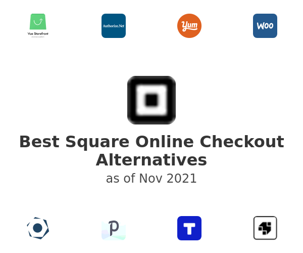 Best Square Online Checkout Alternatives