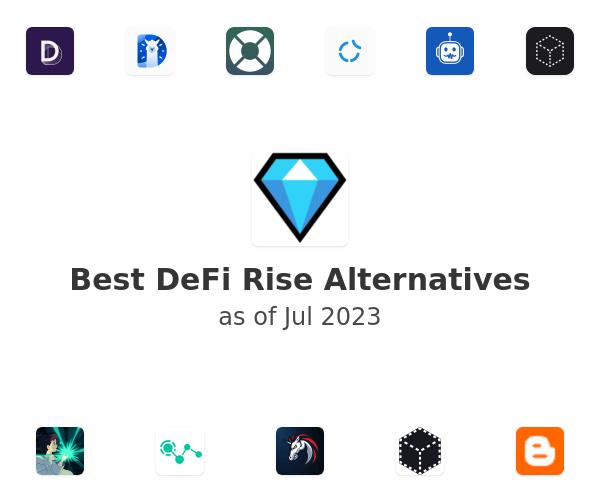 Best DeFi Rise Alternatives