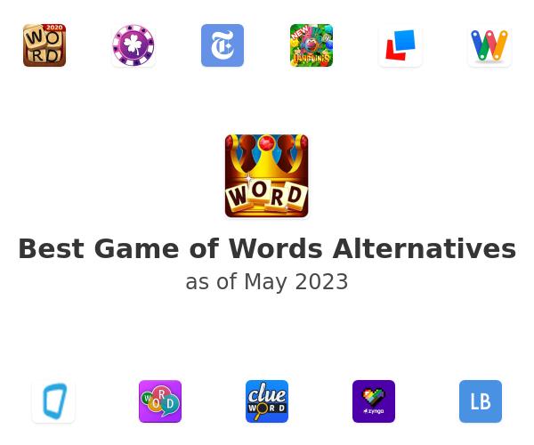 Best Game of Words Alternatives