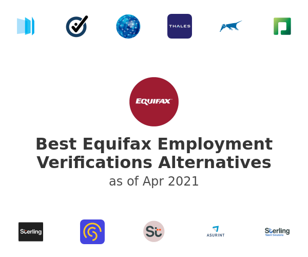 Best Equifax Employment Verifications Alternatives