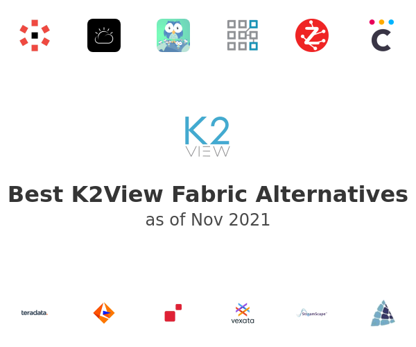 Best K2View Fabric Alternatives