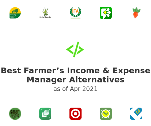 Best Farmer's Income & Expense Manager Alternatives