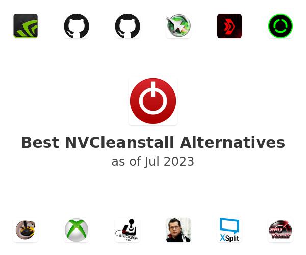 Best NVCleanstall Alternatives
