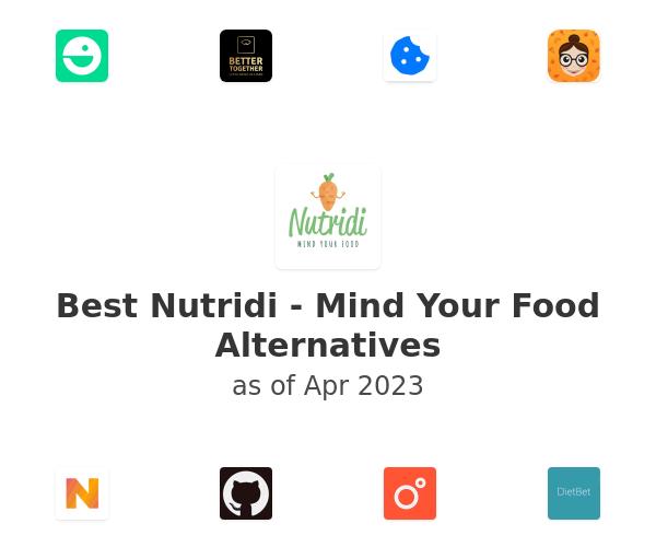 Best Nutridi - Mind Your Food Alternatives