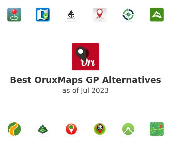 Best OruxMaps GP Alternatives