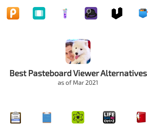 Best Pasteboard Viewer Alternatives
