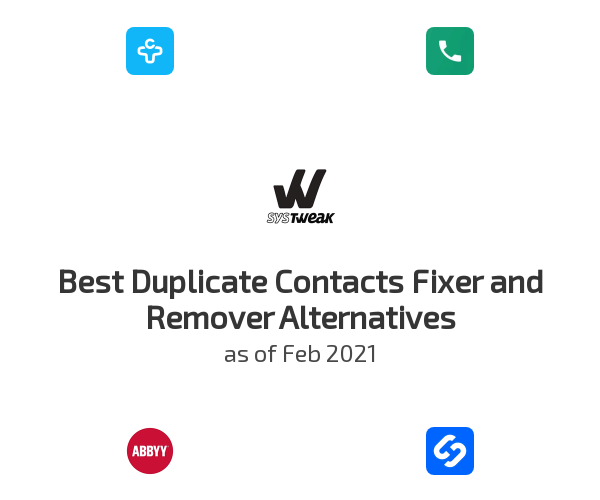 Best Duplicate Contacts Fixer and Remover Alternatives