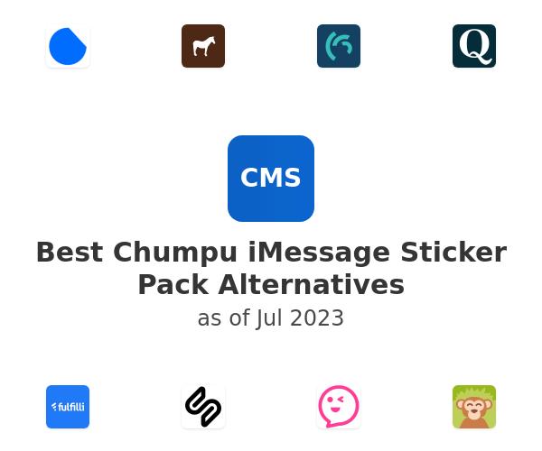 Best Chumpu iMessage Sticker Pack Alternatives