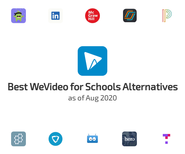 Best WeVideo for Schools Alternatives