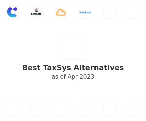 Best TaxSys Alternatives