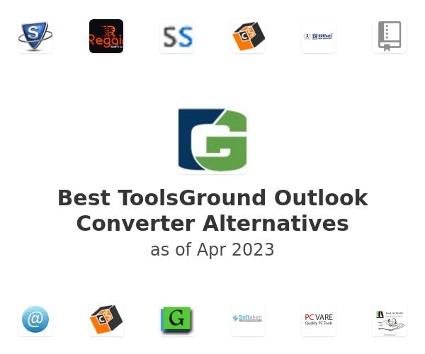 Best ToolsGround Outlook Converter Alternatives