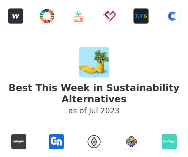 Best This Week in Sustainability Alternatives