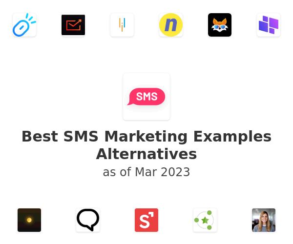 Best SMS Marketing Examples Alternatives