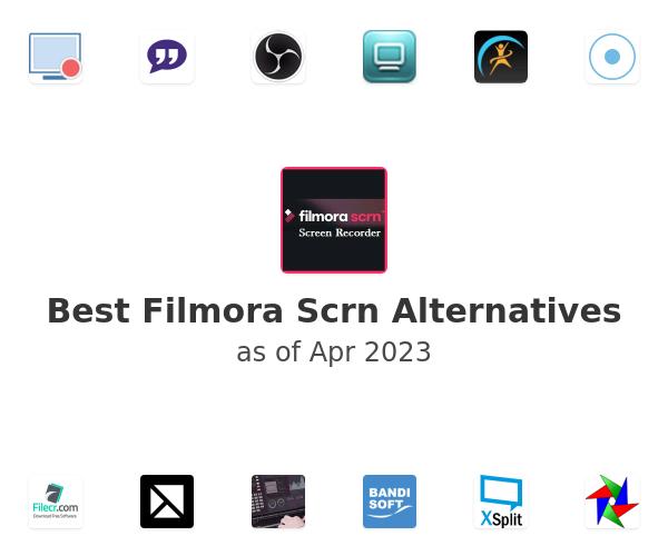 Best Filmora Scrn Alternatives