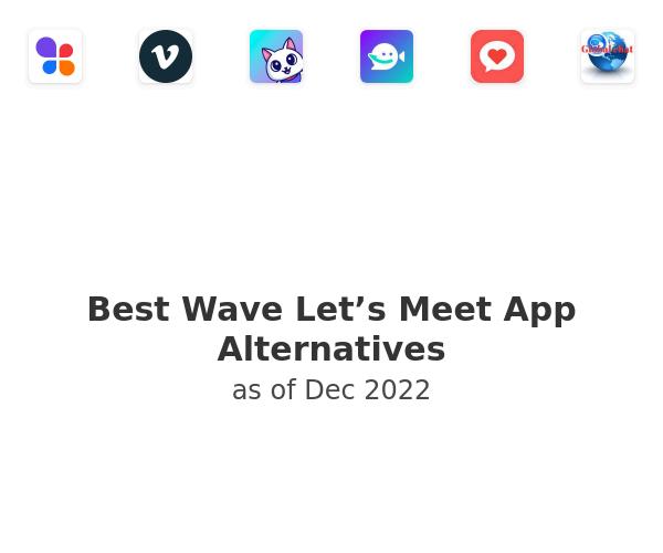 Best Wave Let's Meet App Alternatives