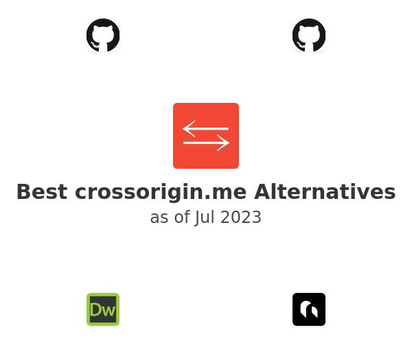 Best crossorigin.me Alternatives