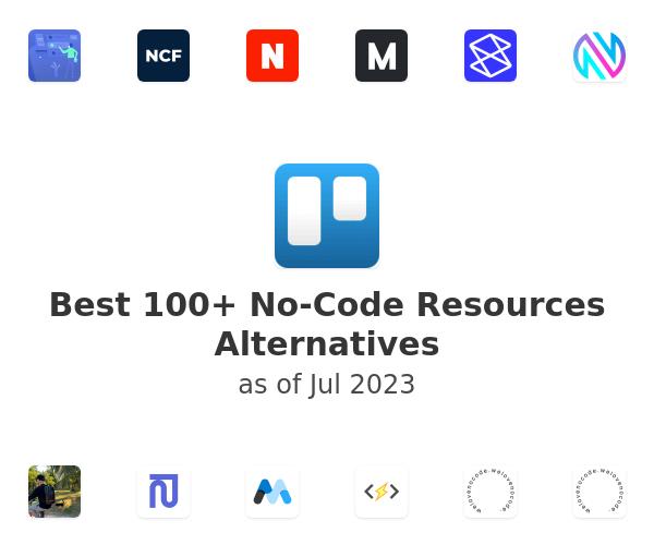 Best 100+ No-Code Resources Alternatives