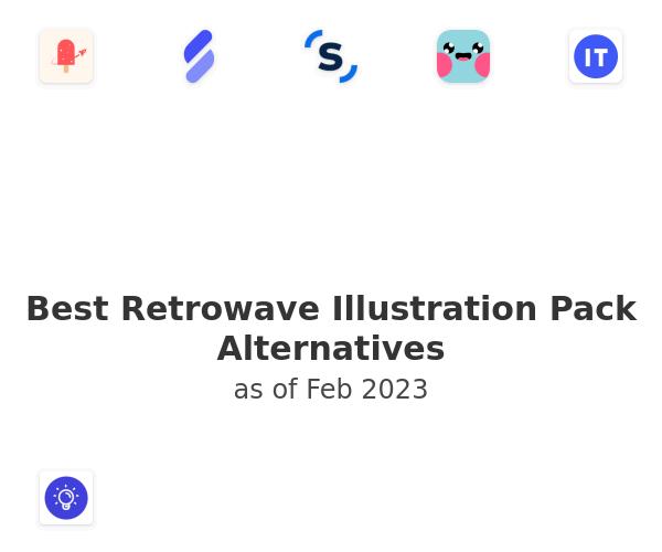 Best Retrowave Illustration Pack Alternatives