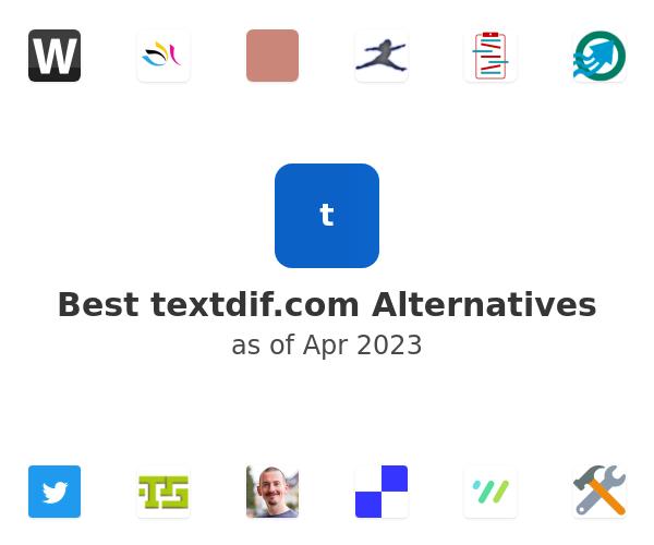 Best textdif.com Alternatives