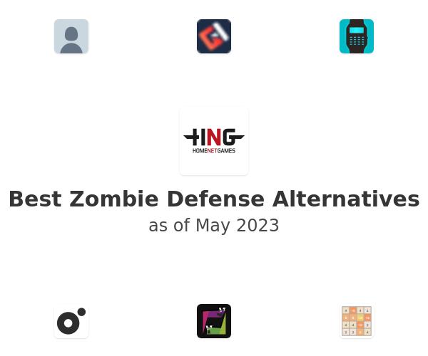 Best Zombie Defense Alternatives