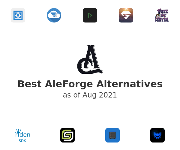 Best AleForge Alternatives
