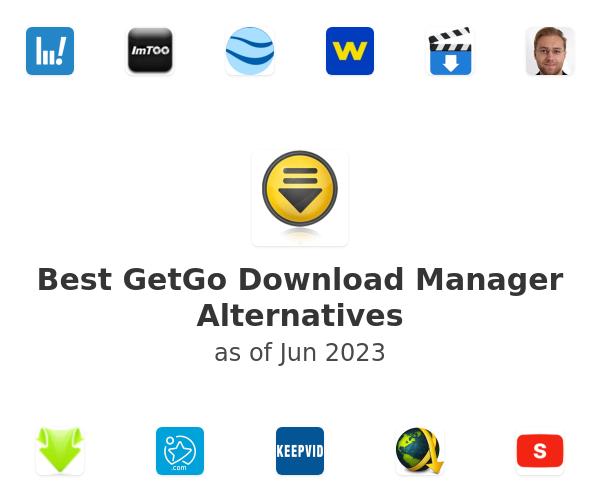 Best GetGo Download Manager Alternatives