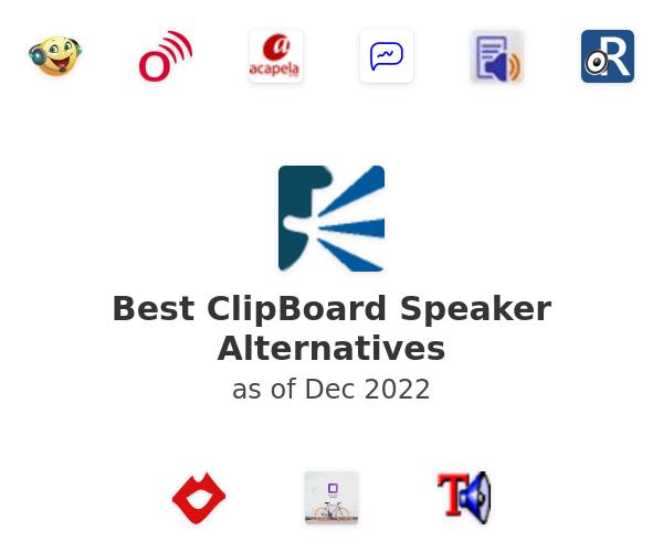 Best ClipBoard Speaker Alternatives