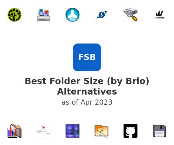 Best Folder Size (by Brio) Alternatives