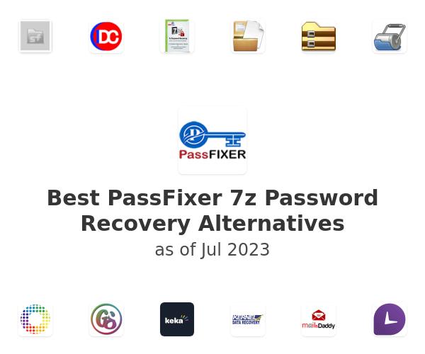 Best PassFixer 7z Password Recovery Alternatives