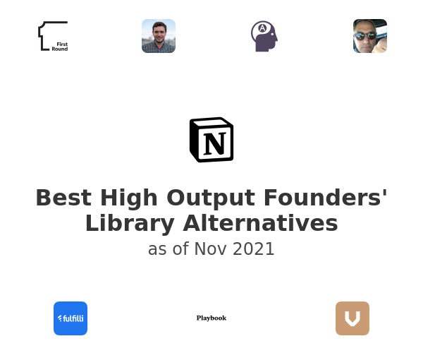 Best High Output Founders' Library Alternatives