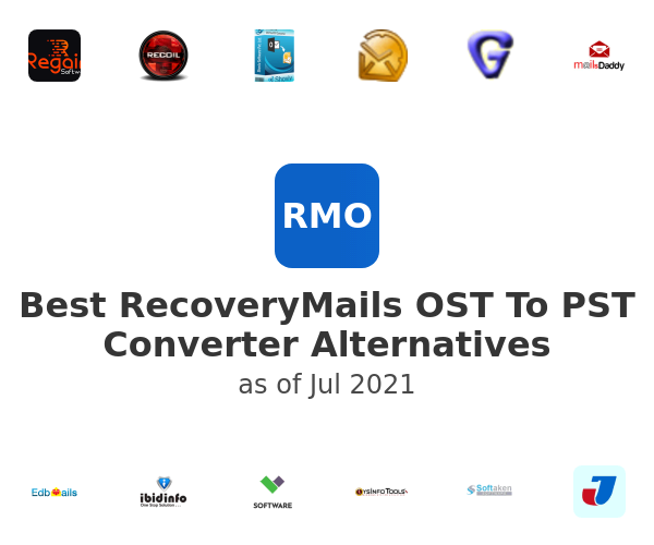 Best RecoveryMails OST To PST Converter Alternatives