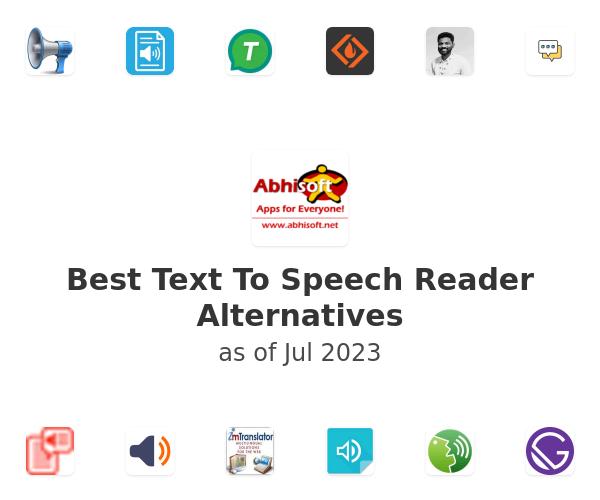 Best Text To Speech Reader Alternatives