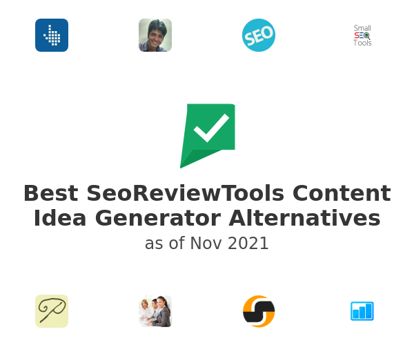 Best SeoReviewTools Content Idea Generator Alternatives