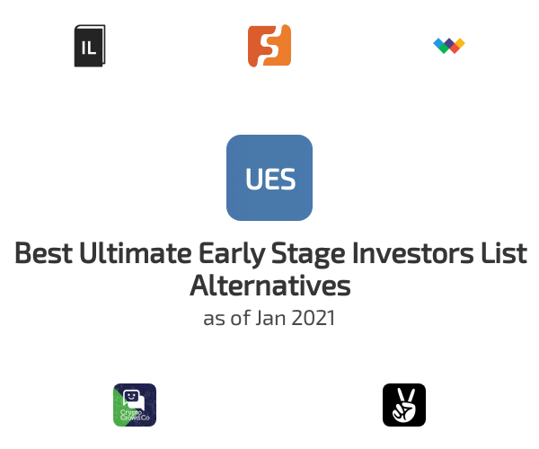 Best Ultimate Early Stage Investors List Alternatives