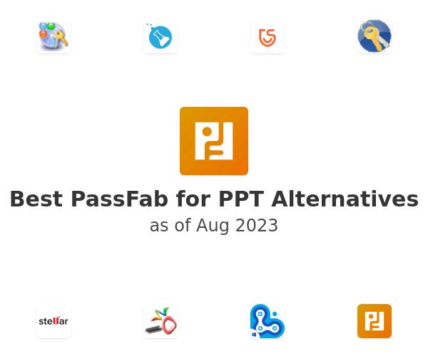 Best PassFab for PPT Alternatives